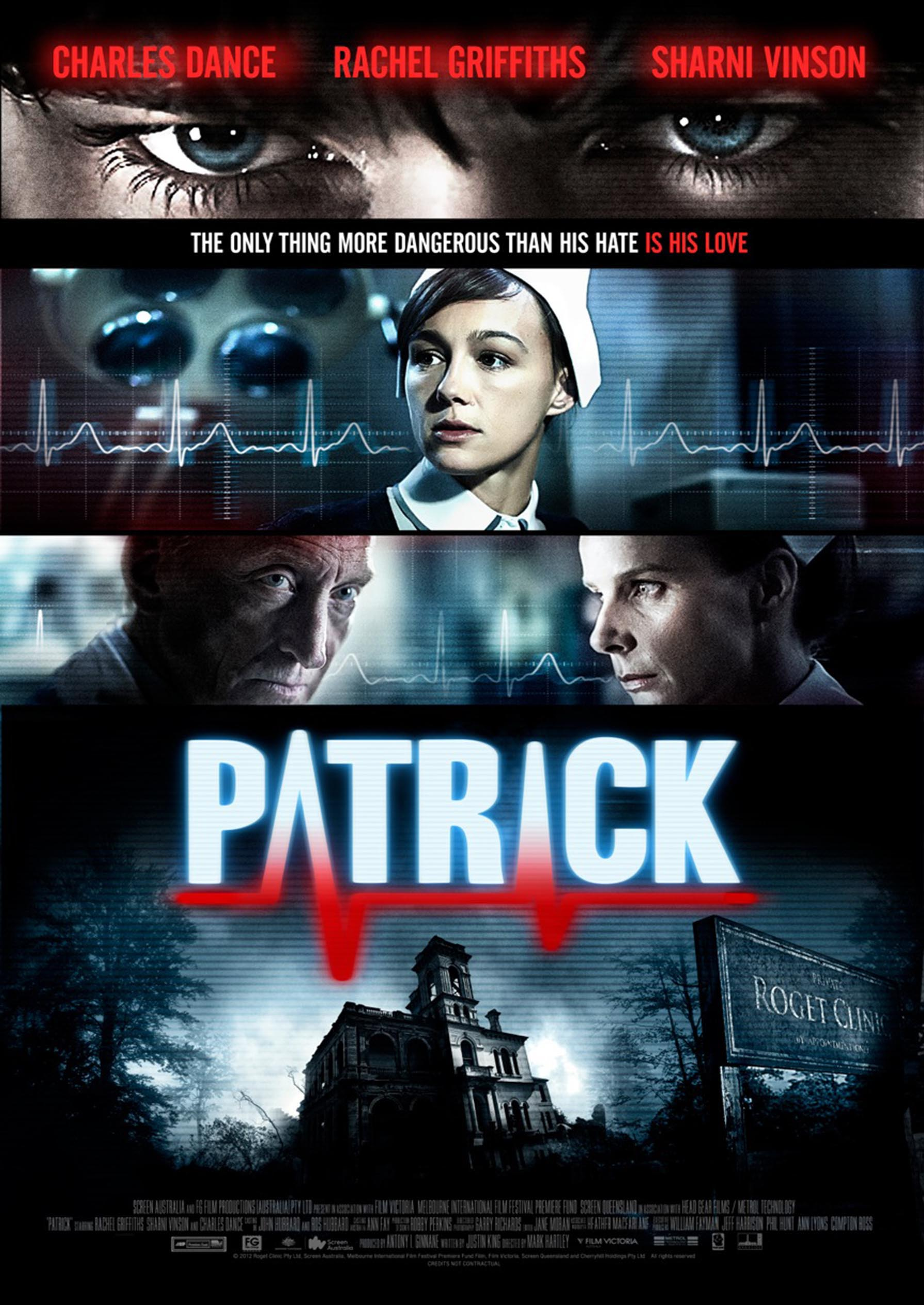 Patrick International Poster